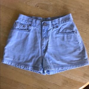 Levi's denim shorts